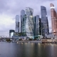 Moscow City - Futuristic Skyscrapers Moscow International Business Center. - VideoHive Item for Sale