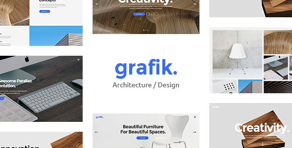 Grafik - Architecture and Design Portfolio Theme
