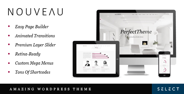Nouveau - Multipurpose WordPress Theme