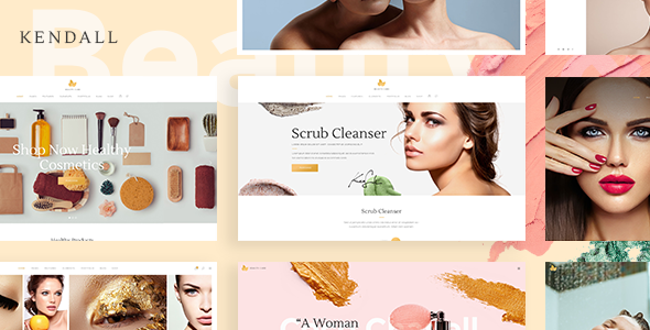 Kendall - Spa, Hair & Beauty Salon Theme