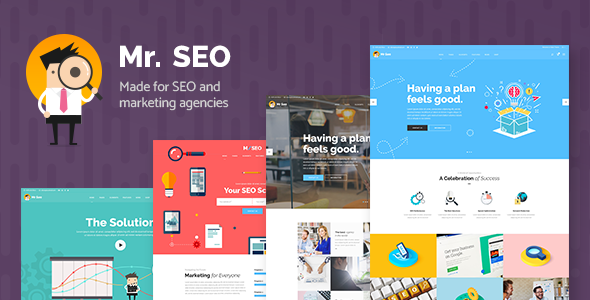 Mr. SEO - SEO, Marketing Agency and Social Media Theme