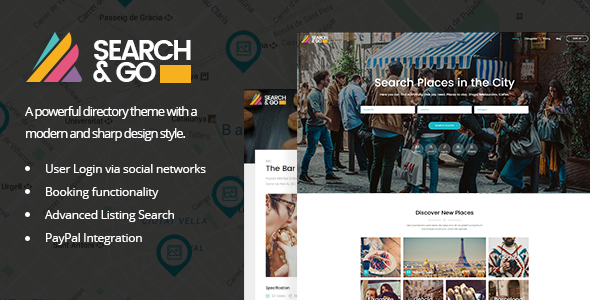 Search & Go - Directory WordPress Theme