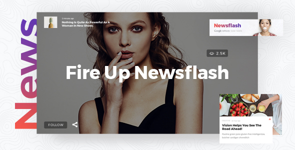Newsflash - News Magazine Theme