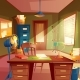 Vector Illustration of Working Space, Study Room - GraphicRiver Item for Sale