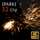Fire Sparks 32 Pack - VideoHive Item for Sale