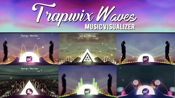 TrapWix Waves Music Visualizer