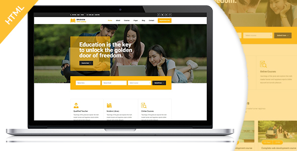 Erudition Education HTML5 Template