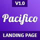 Pacifico - Multipurpose HTML Landing Page Template - ThemeForest Item for Sale