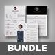 3 Cv/Resume Template Bundle - GraphicRiver Item for Sale