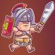 Gladiator Game Sprite - GraphicRiver Item for Sale