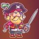 Pirate Game Sprite - GraphicRiver Item for Sale