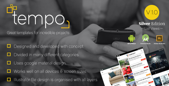 Tempo (Silver Edition) Great templates for incredible projects