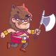 Barbarian Game Sprite - GraphicRiver Item for Sale