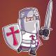 Crusader Game Sprite - GraphicRiver Item for Sale
