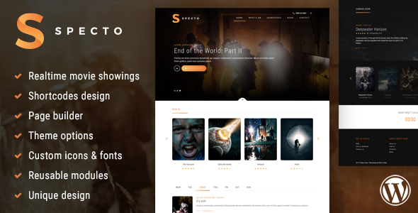 Specto - Cinema WordPress Theme