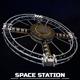 Space station torus sci-fi - 3DOcean Item for Sale