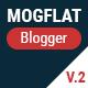 Mogtemplates - MogFlat Template For Blogger - ThemeForest Item for Sale