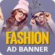 Fashion Shopping | AD Banner Template HTML5 - CodeCanyon Item for Sale