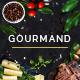 Gourmand - Restaurant, Bistro & Chef Theme - ThemeForest Item for Sale