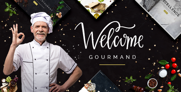 Gourmand - Restaurant, Bistro & Chef Theme
