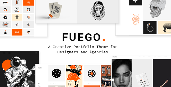 Fuego - Creative Portfolio Theme for Design Agencies