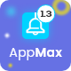 Awesome App Landing Page - AppMax - ThemeForest Item for Sale