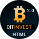 Bitinvest - Bitcoin Crypto Currency Template - ThemeForest Item for Sale