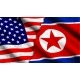 Vector Concept with Flags of Usa and North Korea - GraphicRiver Item for Sale