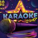 Karaoke Party Flyer - GraphicRiver Item for Sale