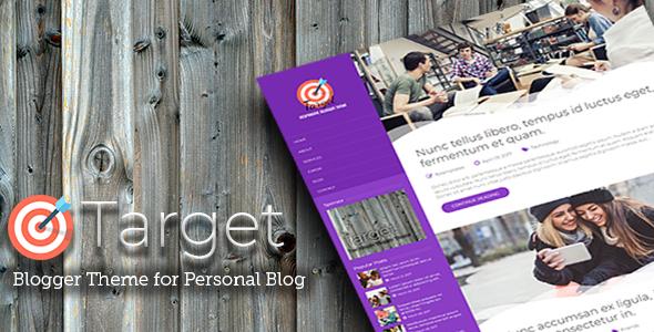 Target – Responsive Blogger Theme, Gobase64
