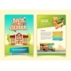 Back to School Brochure Vector Cartoon Template - GraphicRiver Item for Sale