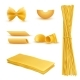 Vector Realistic Set of Italian Pasta - GraphicRiver Item for Sale