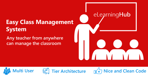 eLearningHub - Easy Class Management system