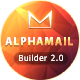 AlphaMail - Responsive Email Template + Online Builder - ThemeForest Item for Sale
