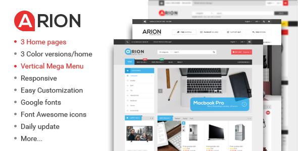 Arion - Responsive Multi-purpose WordPress Theme