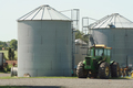 Farm Tractor and silos - PhotoDune Item for Sale