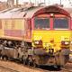 Freight Train Locomotive Stationary