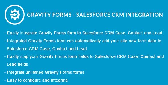 Gravity Forms - Salesforce CRM Integration