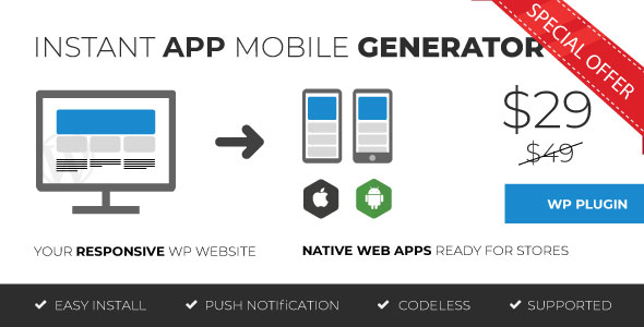 moZable - Instant Mobile App Generator Download
