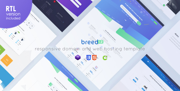 Breed - WHMCS & HTML Web Hosting Template Cracked Themeforest (6 2