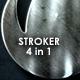 Cinematic Stroke Logo - VideoHive Item for Sale