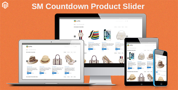 SM Countdown Product Slider - Responsive Magento 2 Module