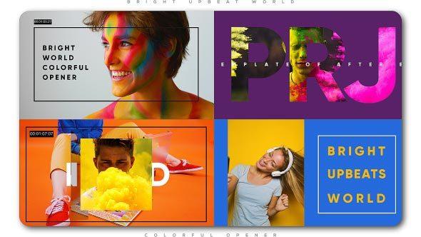 Bright Upbeat World Colorful Opener