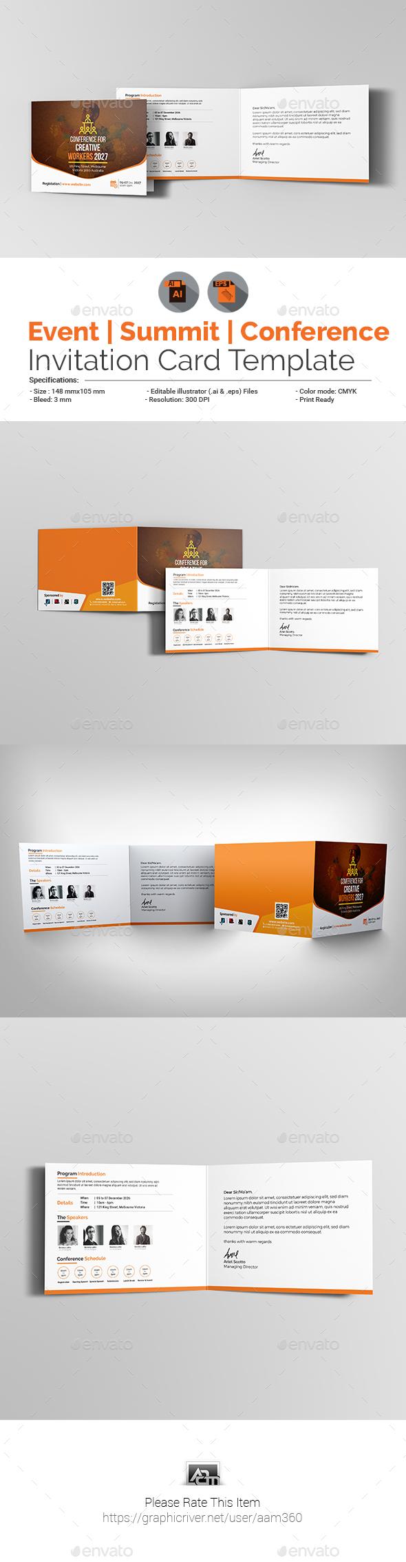 Event Invite Graphics Designs Templates From Graphicriver