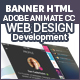 Web Design & Development HTML 5 Banners Animated