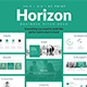Horizon Business Pitch Deck PowerPoint Template - GraphicRiver Item for Sale
