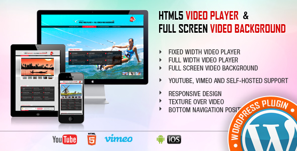 Video Player & FullScreen Video Background - WP Plugin Free Download #1 free download Video Player & FullScreen Video Background - WP Plugin Free Download #1 nulled Video Player & FullScreen Video Background - WP Plugin Free Download #1