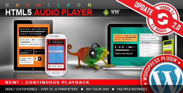 HTML5 Audio Player WordPress Plugin Download