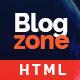 Blogzone - Responsive Blog  Template