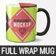 11 oz Full Wrap Mug Mockup Templates - GraphicRiver Item for Sale